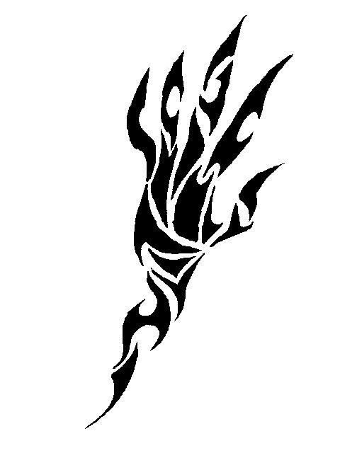 Tribal Hand by ... Tribal Hand Tattoo Designs
