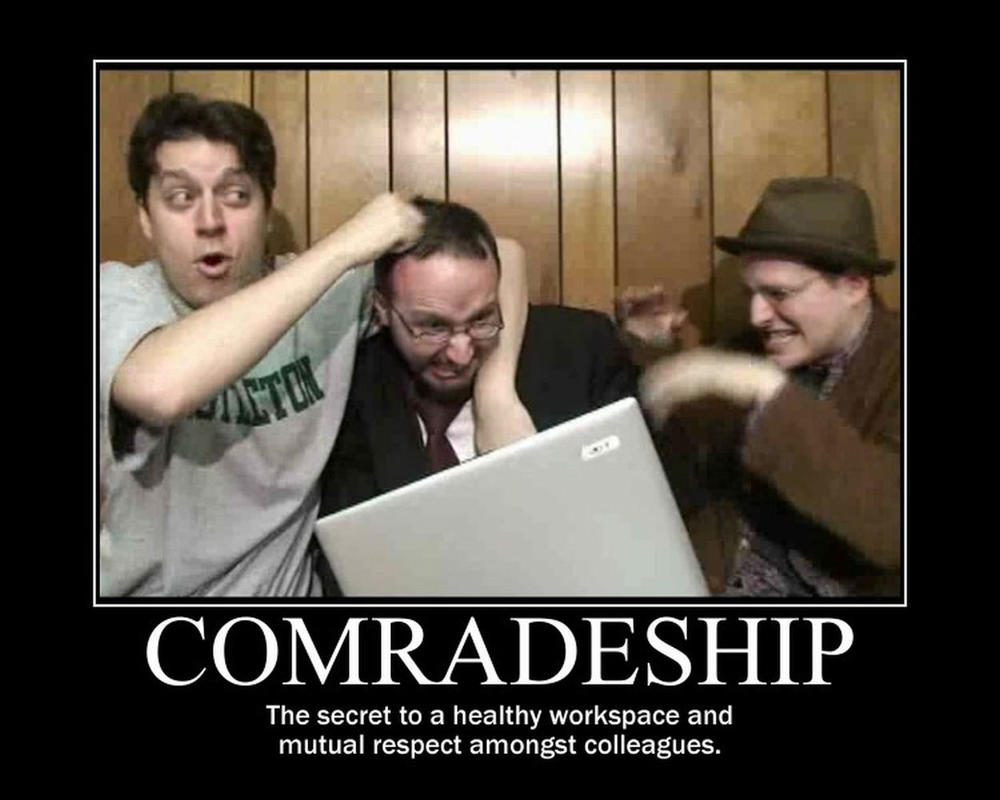 Motivation - Comradeship by Songue