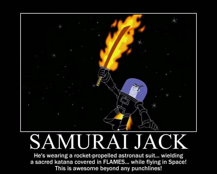 Motivation - Samurai Jack by Songue