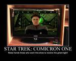 Motivation - Star Trek - Comicron One