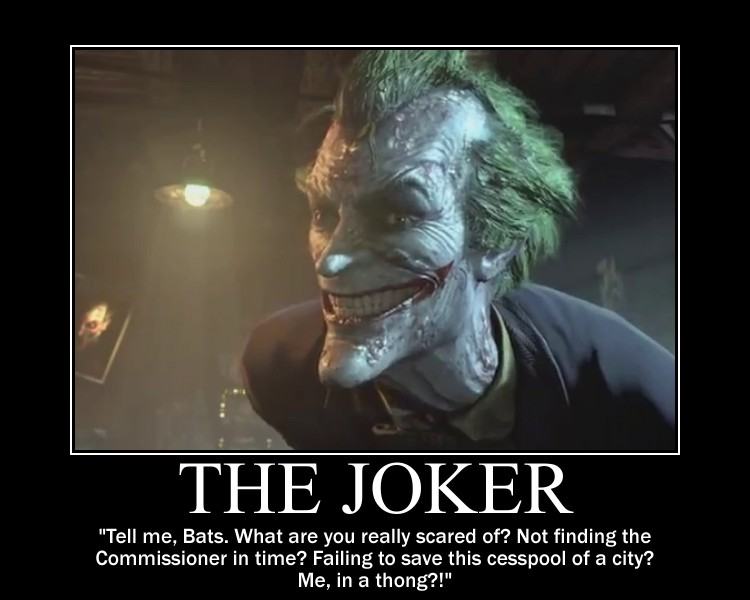 Motivation - The Joker by Songue