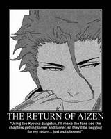 Motivation - The Return of Aizen by Songue