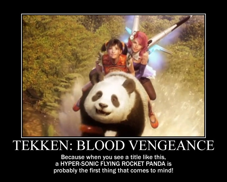 Motivation - Tekken - Blood Vengeance by Songue