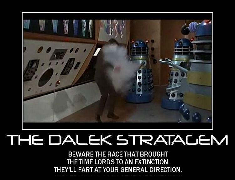 Motivation - The Dalek Stratagem by Songue