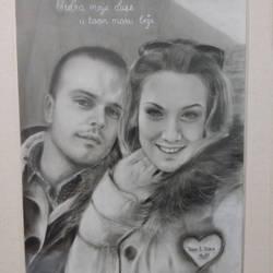 commission portrait couple