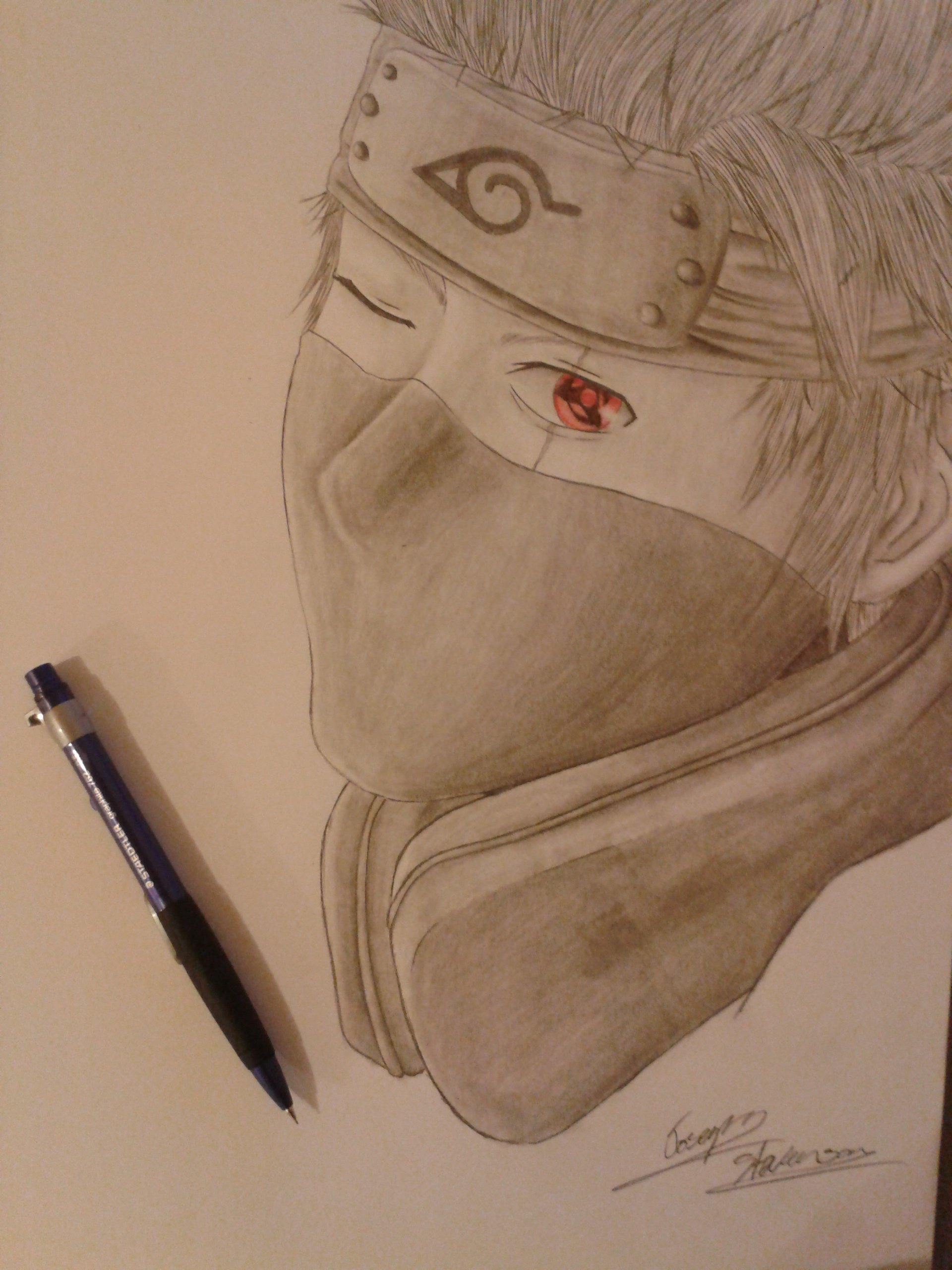 Detailed Kakashi Hatake by mangaxai