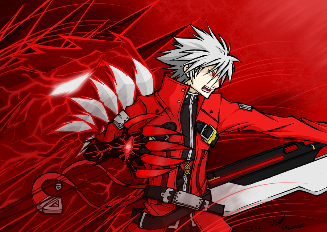 Ragna The Bloodedge - BlazBlue by mangaxai
