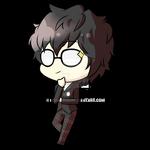 Akira Kurusu (Chibi) - Persona 5