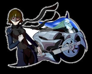 Makoto Niijima - Persona 5 by mangaxai