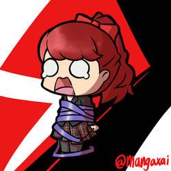 Chibi Kasumi - Persona 5 Royal by mangaxai