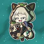 Chibi Sayu - Genshin Impact by mangaxai