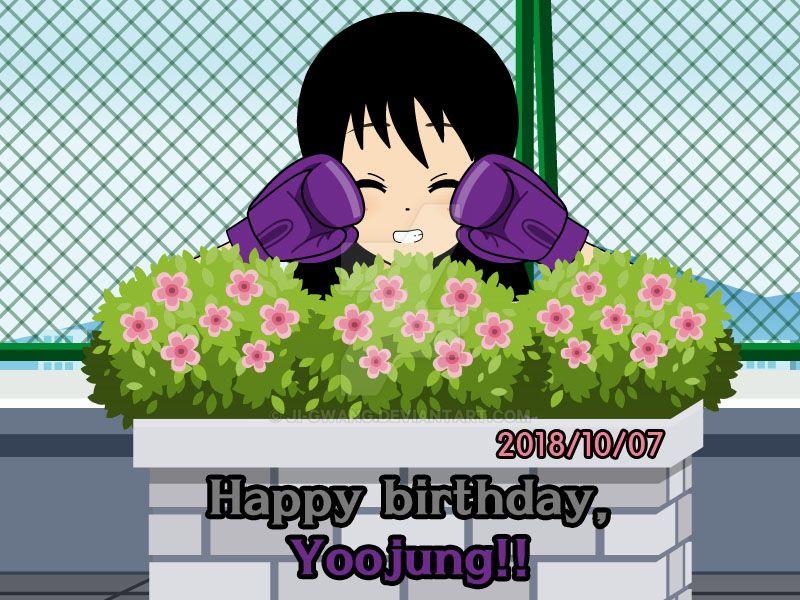Happy birthday, yoojung!! by ji-gwang