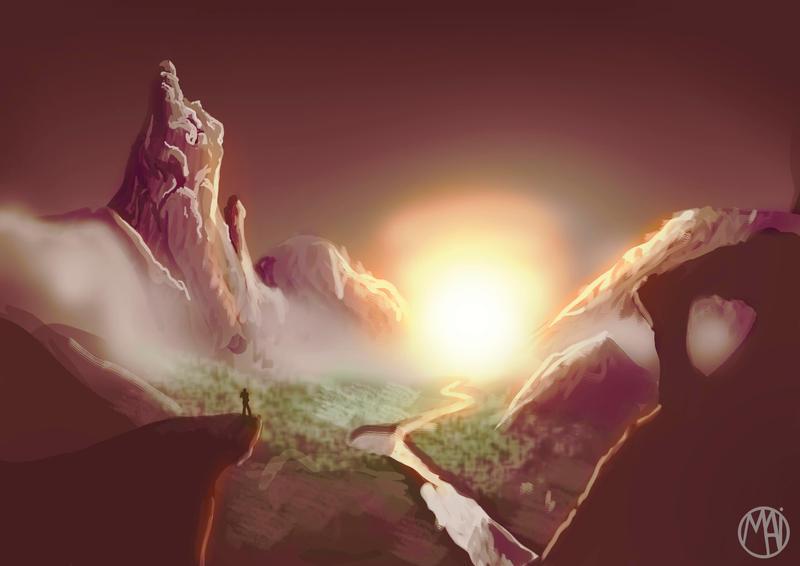 Sunset by Naikiria