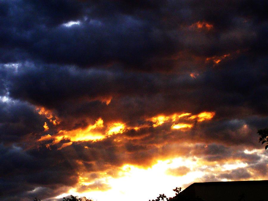 An African Sunset by stefanpaulrust