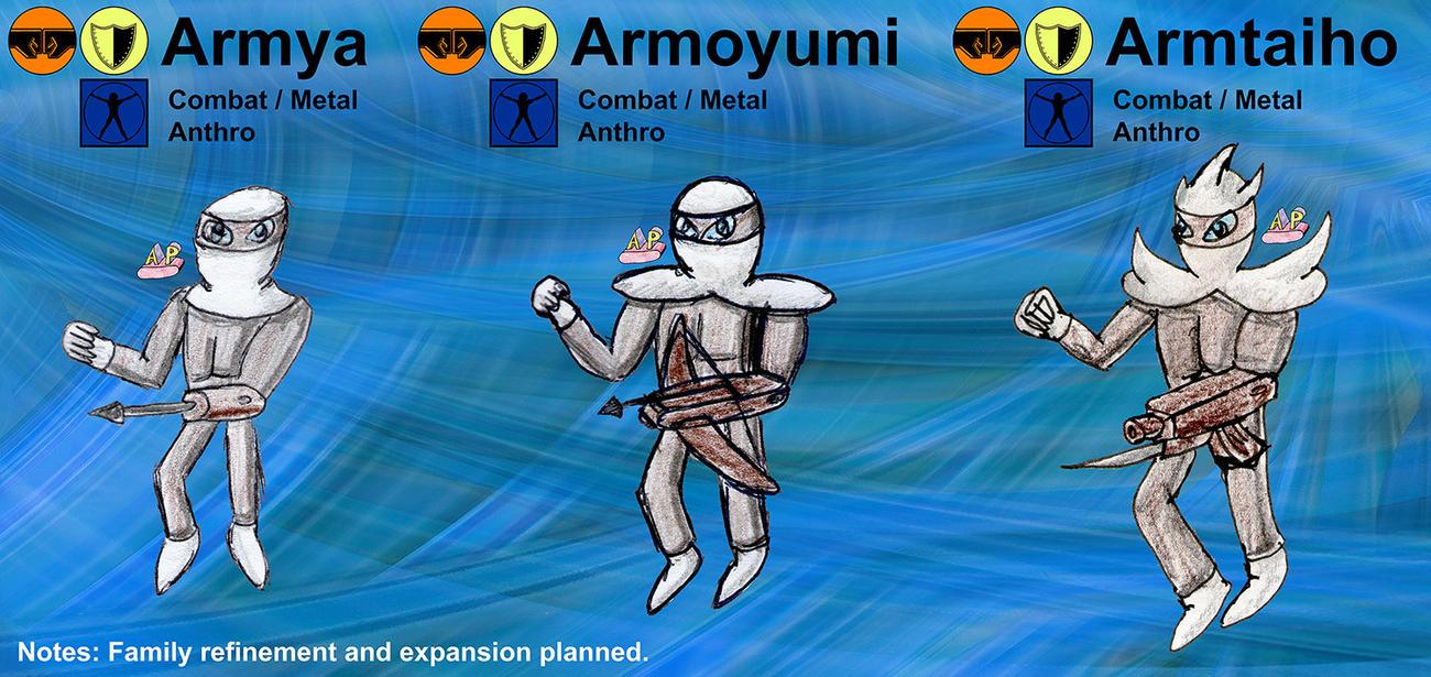 Armya Family by apcomics