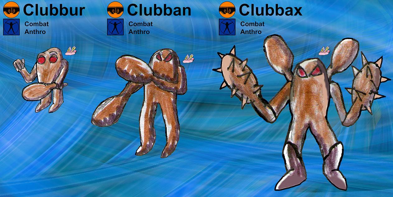 Clubban Family by apcomics