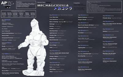APs PCs Character MechaGodzilla Heisei