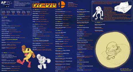 APs PCs Character Pac-Man (Smash Build)