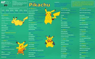APs PCs Character Pikachu