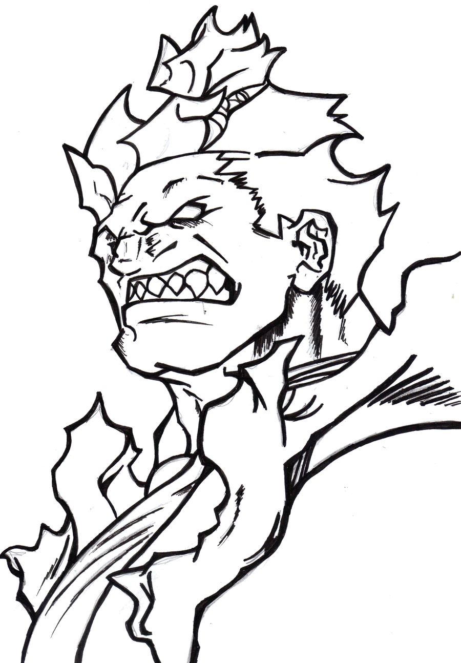 fighter coloring pages