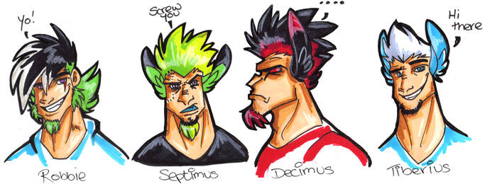 The 3 Stooges And Septimus