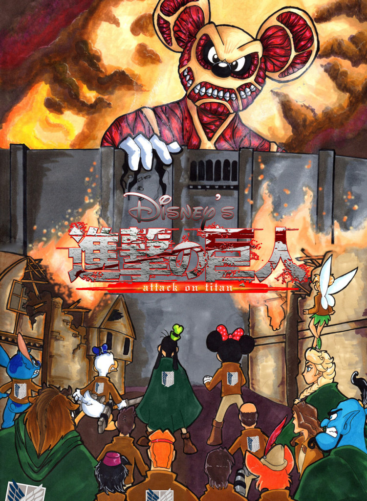 MCM Buzz: What if Disney made Attack on Titan? by GrannyandStu