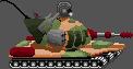 Pixel Art - Golem Tank by IvanMRM