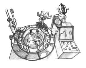 Analytical Creature Terrarium