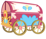 Pinkie Pie's Welcome Wagon without Saddle Rods