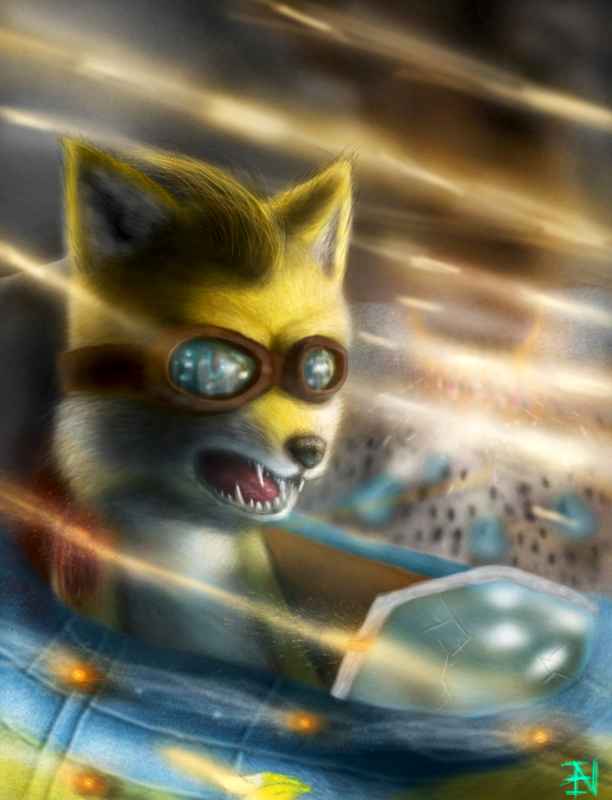 Tails The Fox Hd By Ian Exe On Deviantart