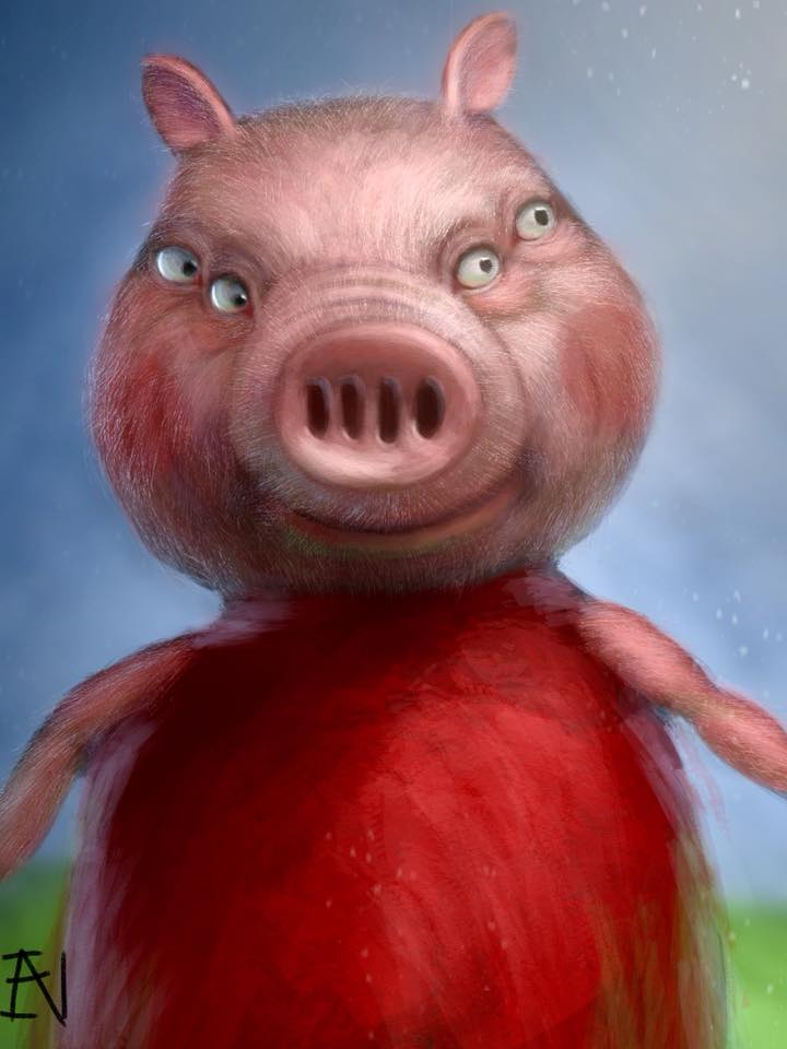 Peppa Pig Front Face By Ian Exe On Deviantart