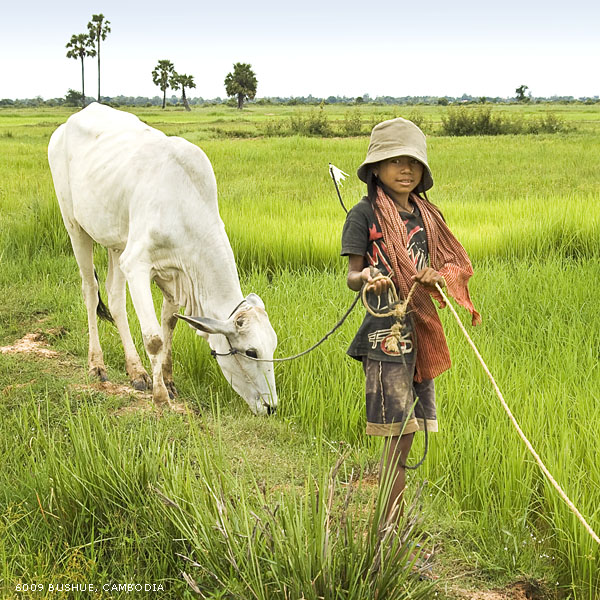 Cambodian Cowgirl by mjbeng