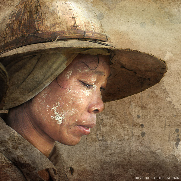 Burma Farm Worker by mjbeng