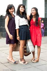 Jakarta Girls by mjbeng