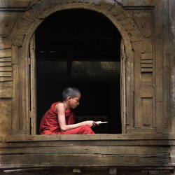 Young Monk by mjbeng