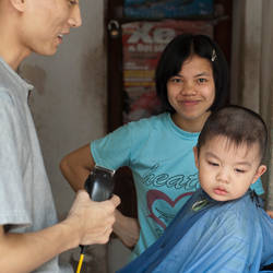 First Haircut by mjbeng