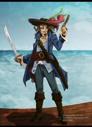 TLOZ:Linebeck:PiratesOfCaribbean by Tlaloca