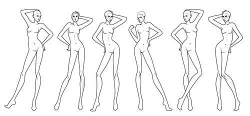 Fashion Design Templates by manu666tb