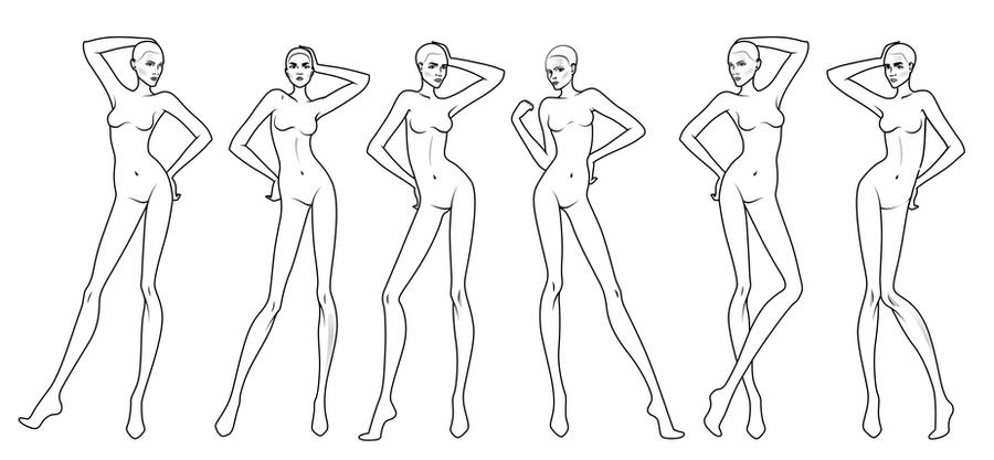 How to draw sketches for fashion design 13