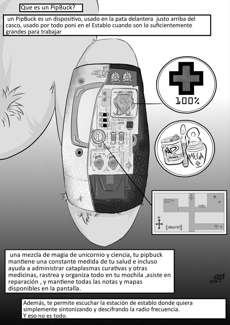Fallout Equestria Comic Pagina 2 Prologo Spanish