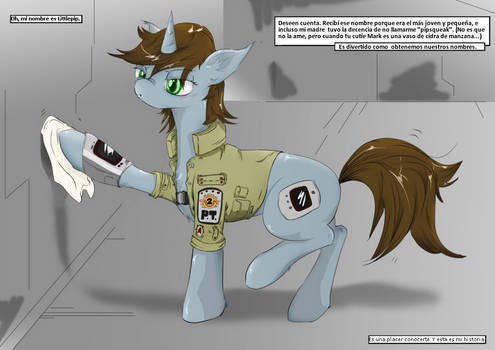 Fallout Equestria Comic Pagina 8 Prologo