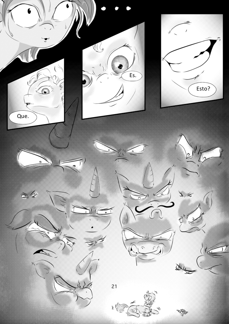 Fallout Equestria Comic Pagina 12 Cap 1 Spanish
