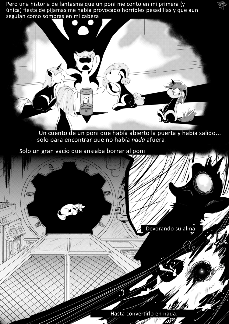 Fallout Equestria Comic Pagina 15 Cap 1 Spanish