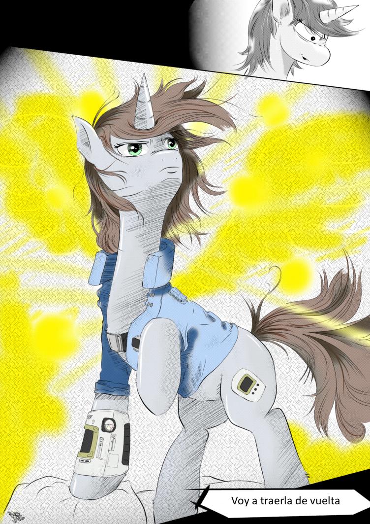 Fallout Equestria Comic Pagina 19 Cap 1 Spanish