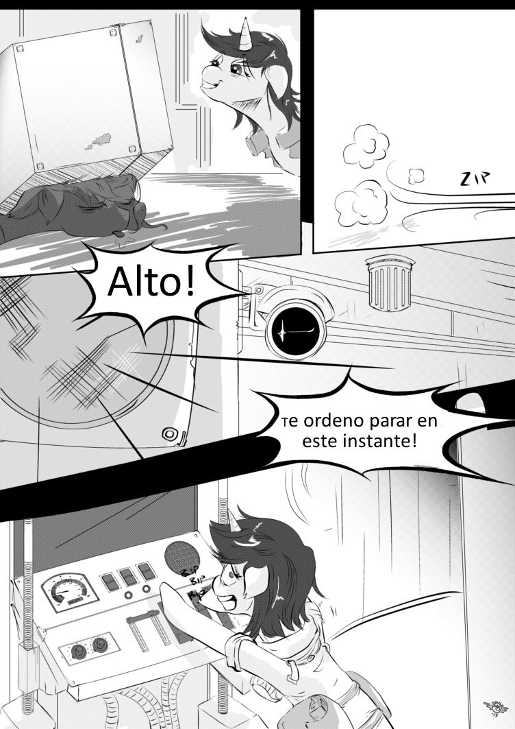 Fallout Equestria Comic Pagina 23 Cap 1 Spanish