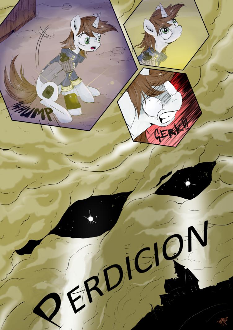 Fallout Equestria Comic Pagina 4 Cap 2 Spanish