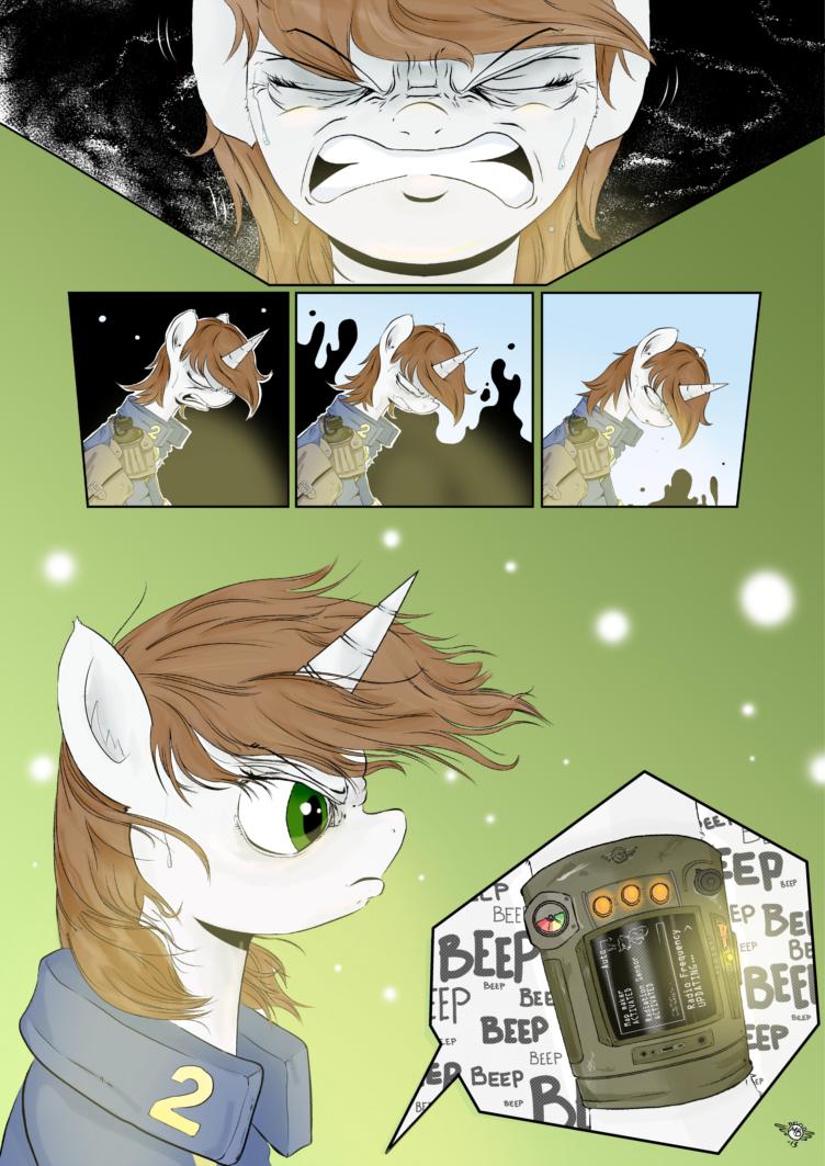Fallout Equestria Comic Pagina 5 Cap 2 Spanish