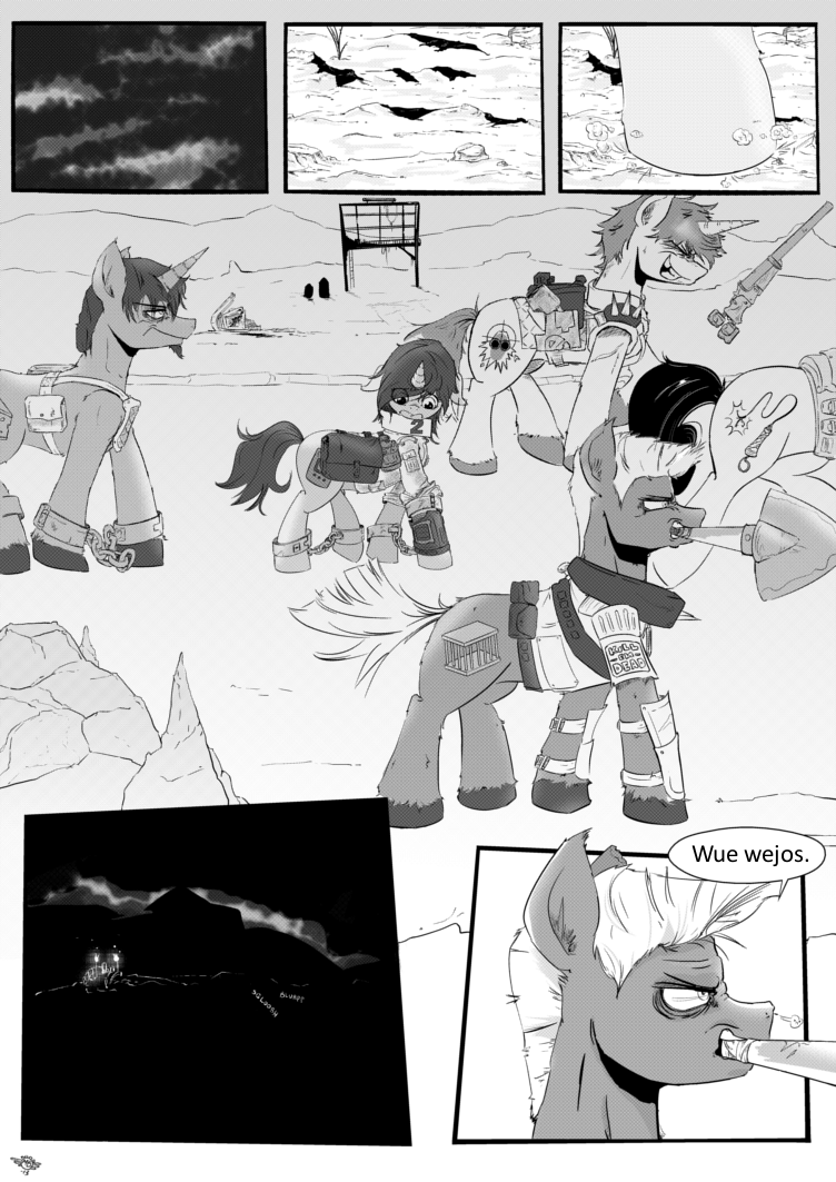 Fallout Equestria Comic Pagina 19 Cap 2 Spanish