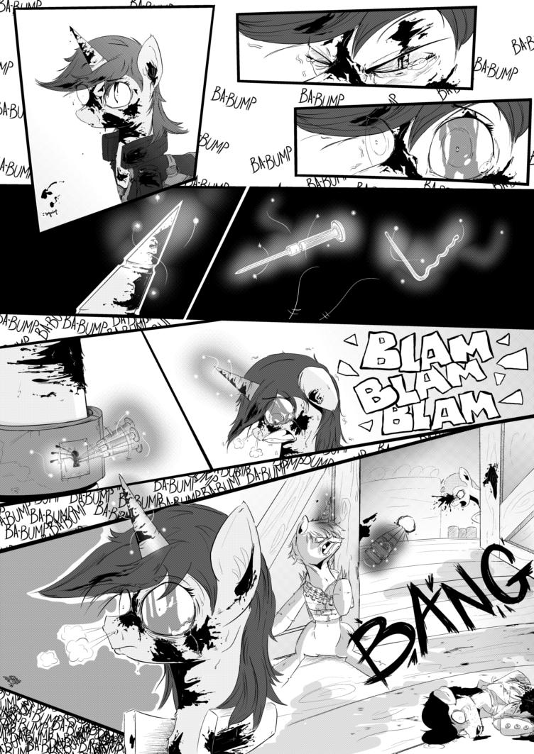Fallout Equestria Comic Pagina 30 Cap 2 Spanish