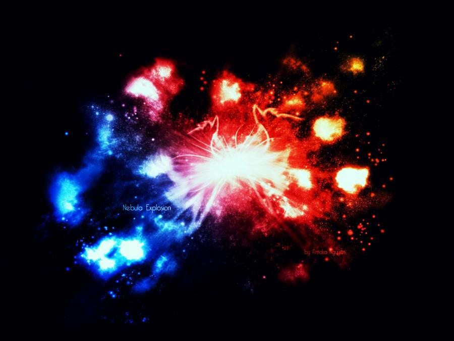 Nebula Explosion by ATKNebula on DeviantArt
